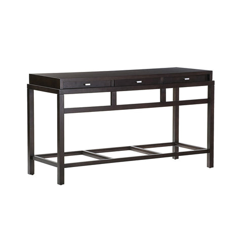Allan Copley Designs Spats 3-Drawer Rectangular Console Table in Espresso