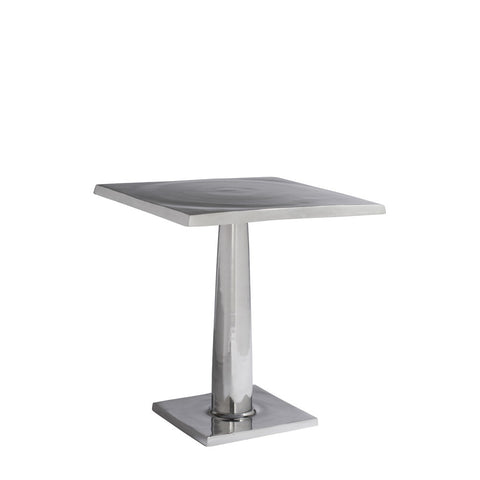 Allan Copley Designs Surina Square End Table in Cast Aluminum