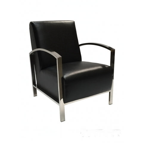 Allan Copley Theresa Lounge Chair In Black