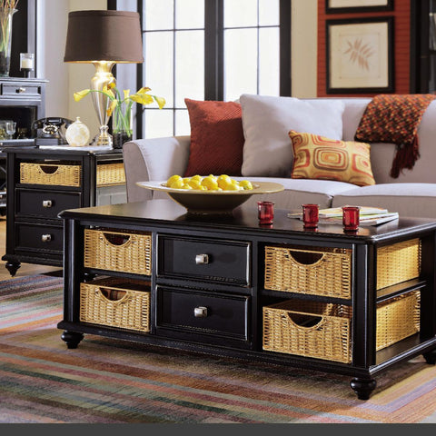 American Drew Camden-Dark 2 Piece Coffee Table Set