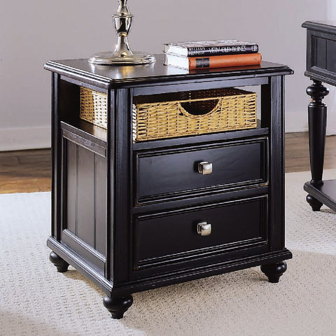 American Drew Camden-Dark Side Table