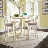 American Drew Camden-Light Round Counter Height Ped Table