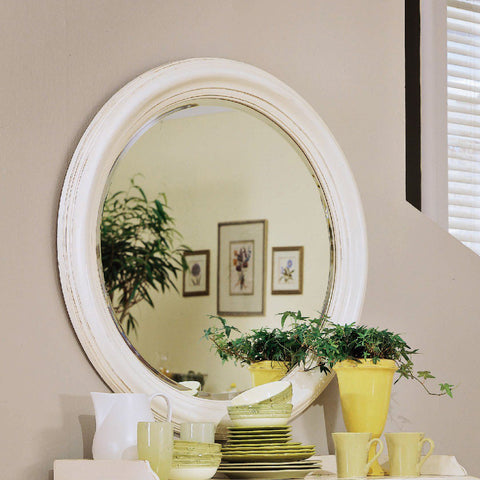 American Drew Camden-Light Round Mirror