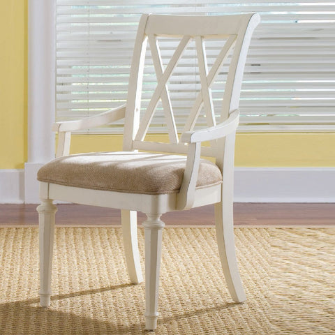 American Drew Camden-Light Splat Arm Chair
