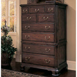 American Drew Cherry Grove 9 Drawer Chest in Antique Cherry