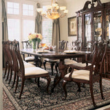 American Drew Cherry Grove 9 Piece Dining Room Set in Antique Cherry