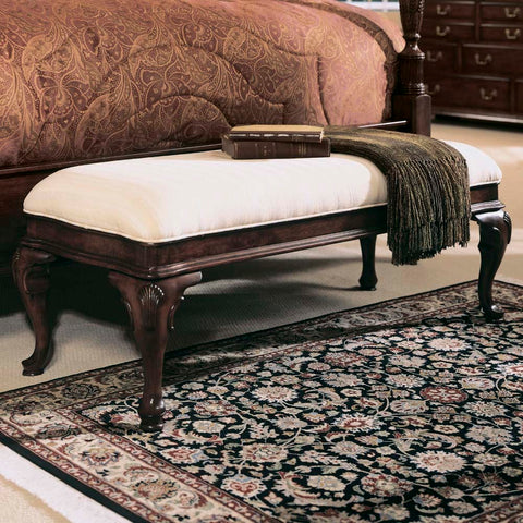 American Drew Cherry Grove Bed Bench in Antique Cherry