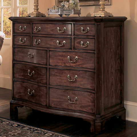 American Drew Cherry Grove Dressing Chest in Antique Cherry