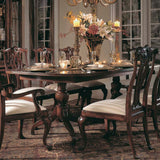 American Drew Cherry Grove Pedestal Dining Table in Antique Cherry