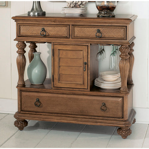 American Drew Grand Isle Sideboard in Amber