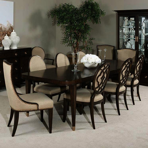 American Drew Grantham Hall 11 Piece Rectangular Dining Room Set