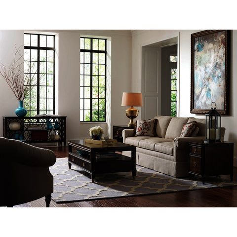 American Drew Grantham Hall 4 Piece Rectangular Coffee Table Set