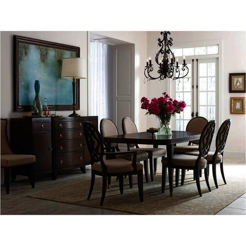American Drew Grantham Hall 8 Piece Rectangular Dining Room Set