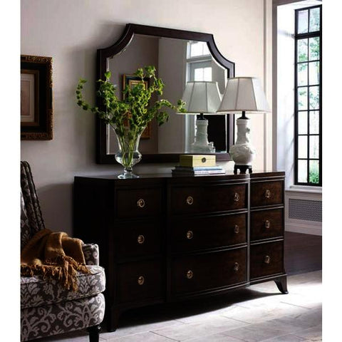 American Drew Grantham Hall 9 Drawer Dresser w/Mirror