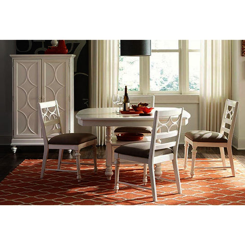American Drew Lynn Haven 6 Piece Storage Counter Table Set
