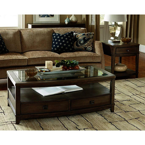 American Drew Park Studio 2 Piece Rectangular Coffee Table Set