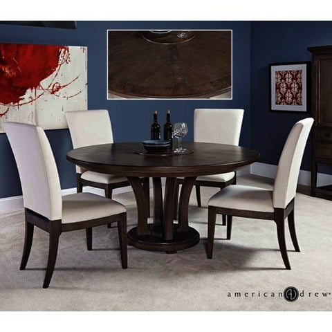 American Drew Park Studio 5 Piece Round Dining Room Set