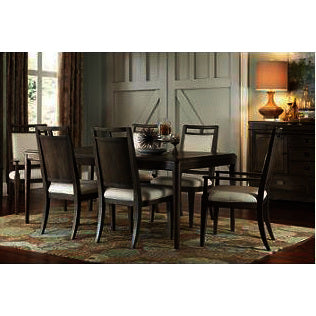 American Drew Park Studio 8 Piece Rectanglar Dining Room Set