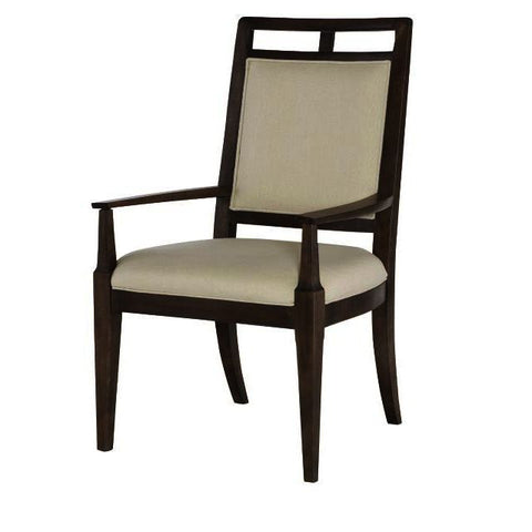 American Drew Park Studio Wood Back Arm Chair