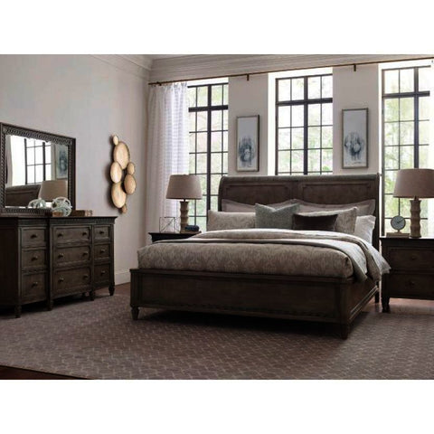 American Drew Savona 4 Piece Anna Sleigh Bedroom Set