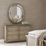 American Drew Savona 4 Piece Katrine Panel Bedroom Set