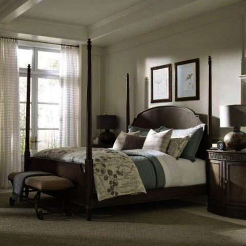 American Drew Savona 4 Piece Sofia Poster Bedroom Set