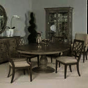 American Drew Savona 5 Piece Octavia Dining Room Set w/Arm Chairs