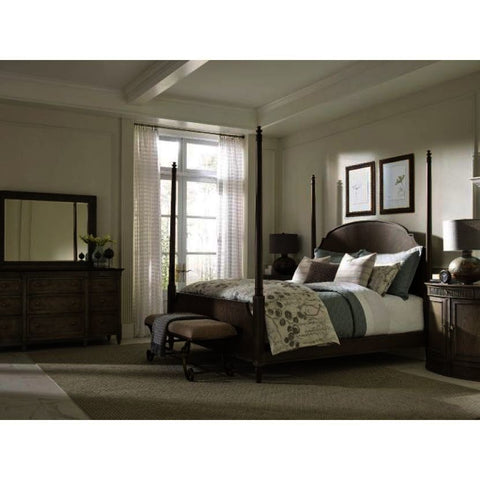 American Drew Savona 5 Piece Sofia Poster Bedroom Set