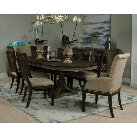 American Drew Savona 9 Piece Friedrick Dining Room Set