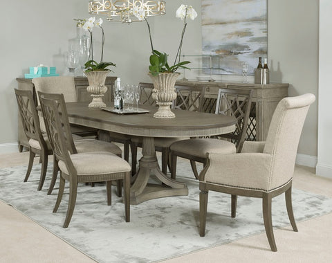 American Drew Savona 5 Piece Octavia Dining Room Set W Arm Chairs