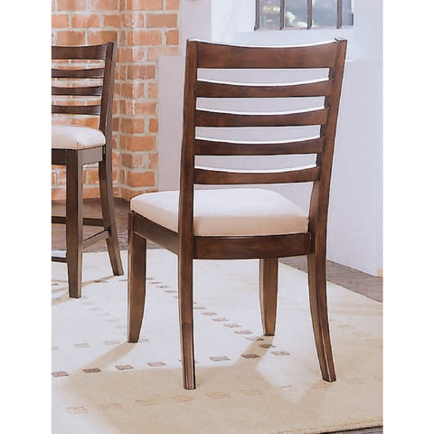 American Drew Tribecca Splat Side Chair in Root Beer Color