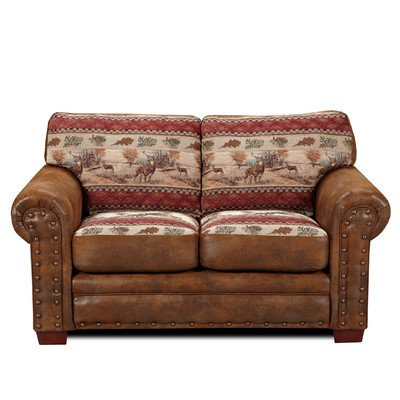 American Furniture Alpine Lodge Loveseat