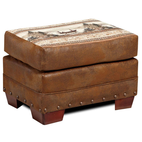 American Furniture Alpine Lodge Ottoman
