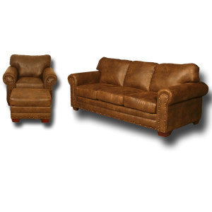 American Furniture Classics Buckskin 3 Piece Living Room Set