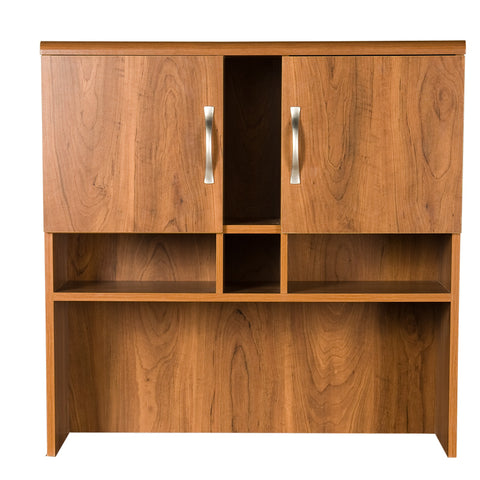 American Furniture Classics Hutch For Lateral File And Extension Unit In Autumn Oak