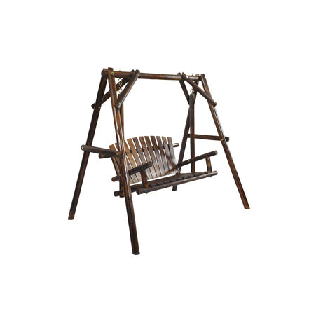 American Furniture Classics Log Swing In Burnt