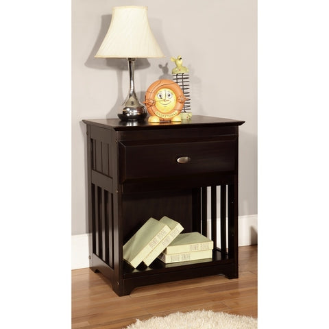 American Furniture Classics Nightstand In Espresso