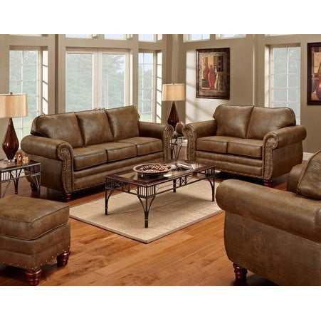 American Furniture Sedona 4 Piece Living Room Set With Sleeper