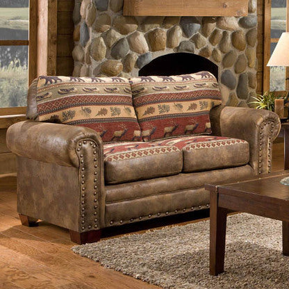 American Furniture Sierra Lodge Loveseat