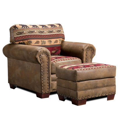 American Furniture Sierra Lodge Ottoman