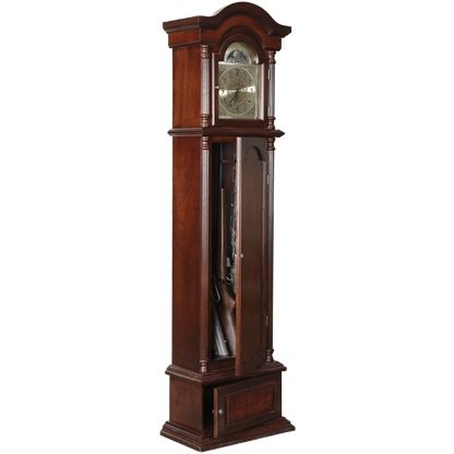 American Furniture Classics The Gunfather Clock In Brown Cherry