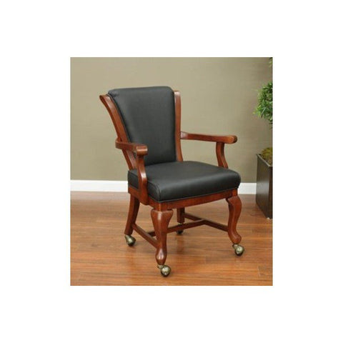 American Heritage Clarisa Collection Game Chair in Suede
