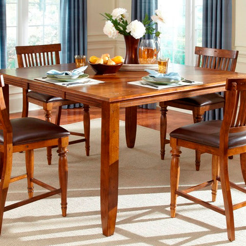 American Heritage Delphina 60 Inch Butterfly Counter Height Dining Table