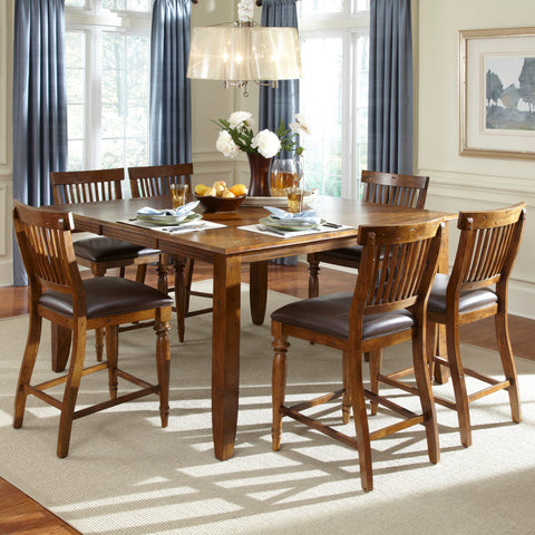 American Heritage Delphina 7 Piece Counter Height Dining Set