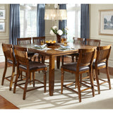 American Heritage Delphina 9 Piece Counter Height Dining Set