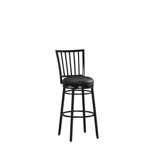 American Heritage Easton Collection Counter Height Barstool in Black