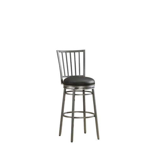 American Heritage Easton Collection Counter Height Barstool in Flint