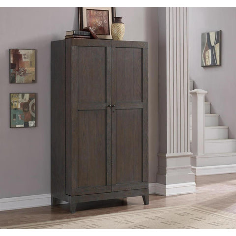 American Heritage Fairfield Wine Cabinet in Glacier