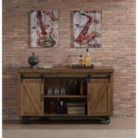 American Heritage Gateway Bar Cart