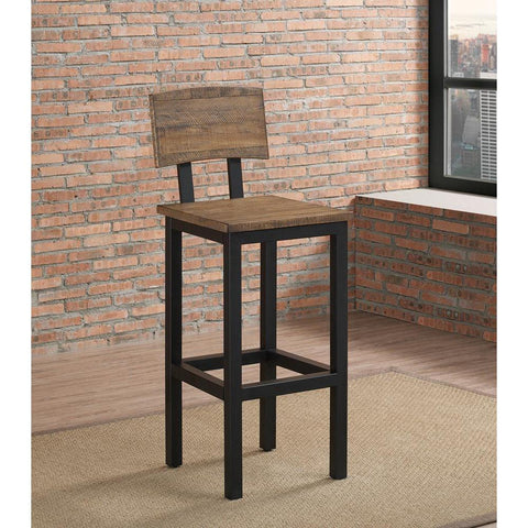 American Heritage Gateway Barstool in Graphite